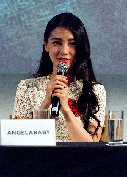 "Angelababy「""The Ghouls"" Photocall And Press Conference - The 68th Annual Cannes Film Festival」:写真・画像(18)[壁紙.com]"