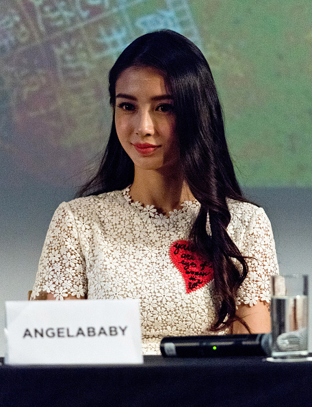 "Angelababy「""The Ghouls"" Photocall And Press Conference - The 68th Annual Cannes Film Festival」:写真・画像(15)[壁紙.com]"