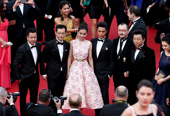 "Angelababy「Opening Ceremony & ""La Tete Haute"" Premiere - The 68th Annual Cannes Film Festival」:写真・画像(6)[壁紙.com]"
