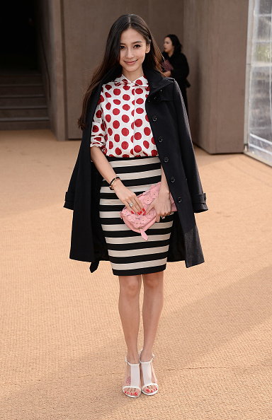 Angelababy「Burberry Womenswear Autumn/Winter 2014 - Arrivals」:写真・画像(10)[壁紙.com]