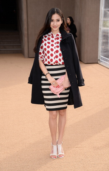 Angelababy「Burberry Womenswear Autumn/Winter 2014 - Arrivals」:写真・画像(11)[壁紙.com]