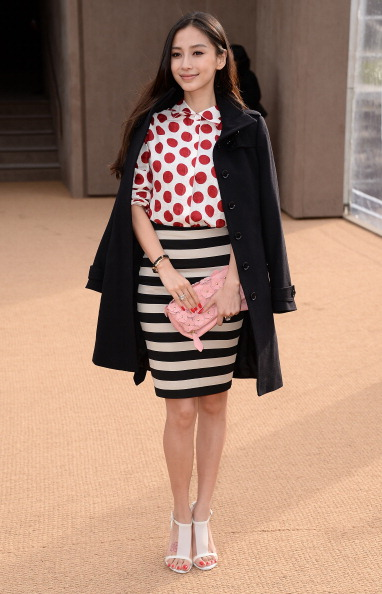 Angelababy「Burberry Womenswear Autumn/Winter 2014 - Arrivals」:写真・画像(15)[壁紙.com]