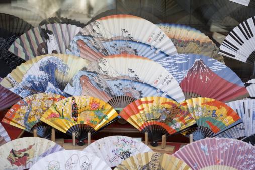 Gift Shop「Japan, Kyoto City, Japanese fans」:スマホ壁紙(3)
