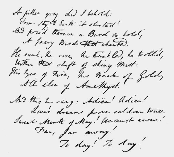 Poetry- Literature「Unpublished poem by Coleridge」:写真・画像(12)[壁紙.com]