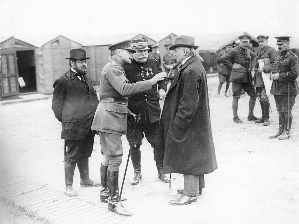 Entente Powers「Lloyd-George With Allied Generals」:写真・画像(2)[壁紙.com]