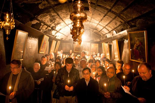 West Bank「Pilgrims Head To The Church of Nativity Ahead of Christmas」:写真・画像(3)[壁紙.com]