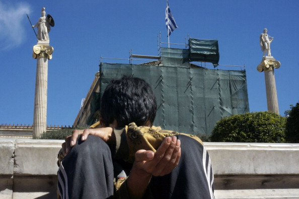 Handout「The Homeless On The Streets Of Athens Struggle Due To Greek Economic Woes」:写真・画像(13)[壁紙.com]