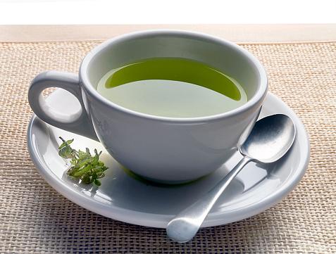 Mint Leaf - Culinary「green tea on mat」:スマホ壁紙(6)