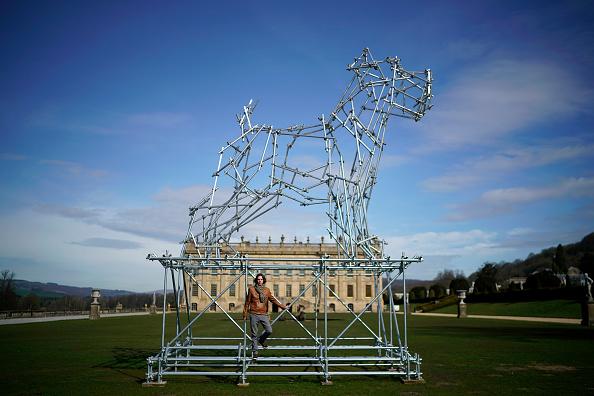 Sculpture「Duke and Duchess of Devonshire Present Chatsworth 2019 Sculpture Exhibition」:写真・画像(7)[壁紙.com]