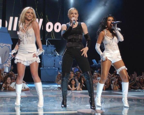 Christina Aguilera「Britney Spears, Madonna, and Christina Aguilera」:写真・画像(14)[壁紙.com]