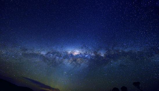 星空「Milky Way Panoramic」:スマホ壁紙(1)