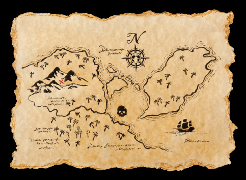 Map「海賊マップ」:スマホ壁紙(6)