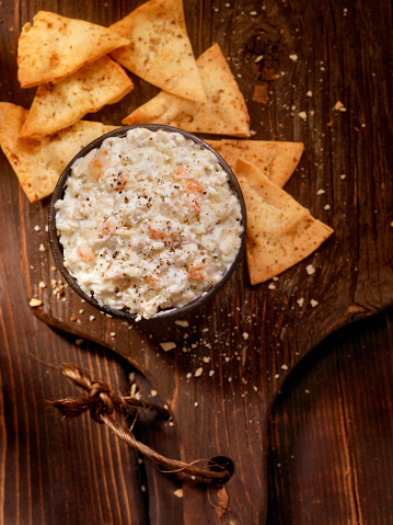 Party - Social Event「Creamy Crab Dip with Baked Pita Chips」:スマホ壁紙(6)