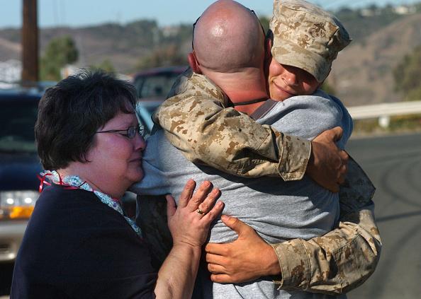 Marines - Military「Marines Return Home To Camp Pendleton From Iraq」:写真・画像(15)[壁紙.com]