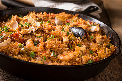 Paella「Spanish Seafood」:スマホ壁紙(10)