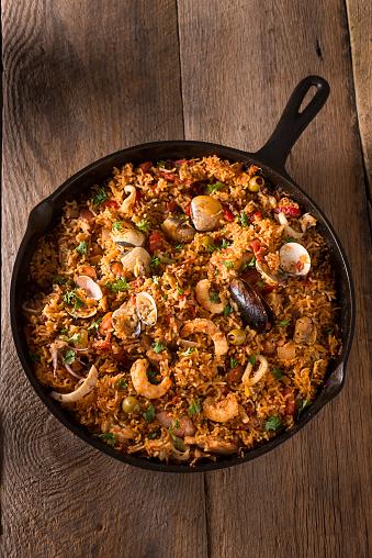 Skillet - Cooking Pan「Spanish Seafood」:スマホ壁紙(16)