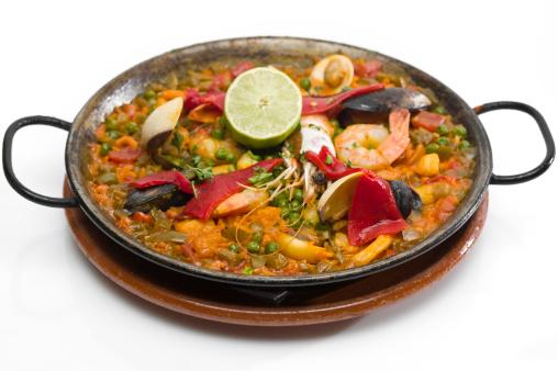Paella「Spanish seafood paella」:スマホ壁紙(7)