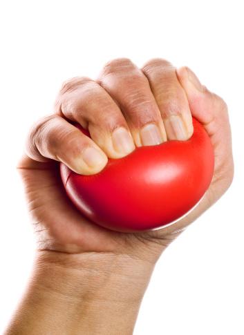 Human Hand「Stress ball squeezing」:スマホ壁紙(10)