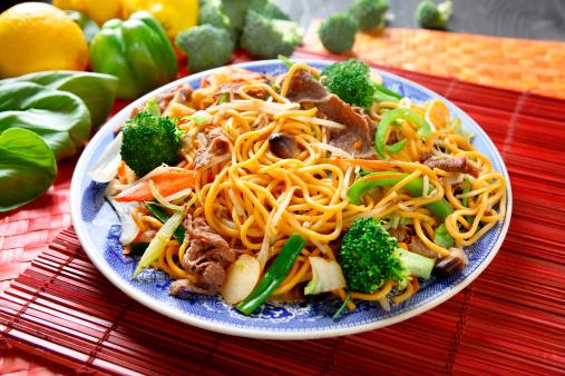 Chow Mein「Beef broccoli Chow Mein」:スマホ壁紙(2)