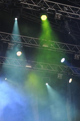 Music Festival「Lighting Equipment on Open Air Concert」:スマホ壁紙(2)