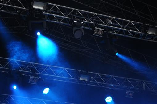 Music Festival「Lighting Equipment on Open Air Concert」:スマホ壁紙(1)