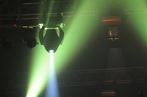 Music Festival「Lighting Equipment on Club Concert」:スマホ壁紙(18)