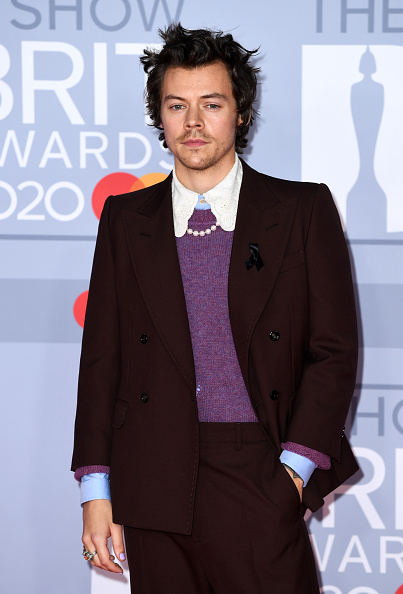 Harry Styles「The BRIT Awards 2020 - Red Carpet Arrivals」:写真・画像(6)[壁紙.com]