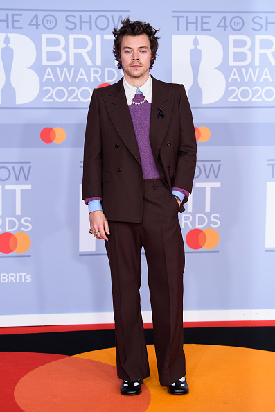 Harry Styles「The BRIT Awards 2020 - Red Carpet Arrivals」:写真・画像(11)[壁紙.com]