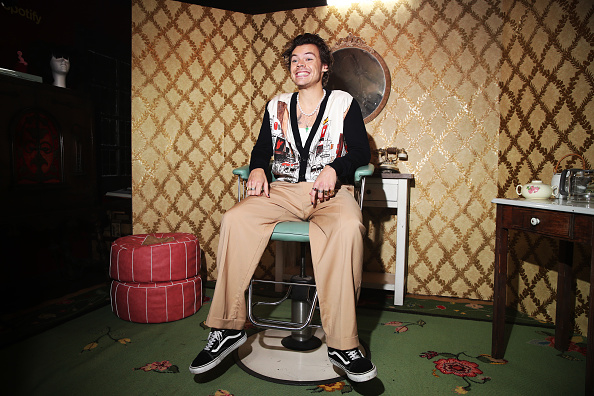 Harry Styles「Spotify Celebrates The Launch Of Harry Styles' New Album With Private Listening Session For Fans」:写真・画像(19)[壁紙.com]
