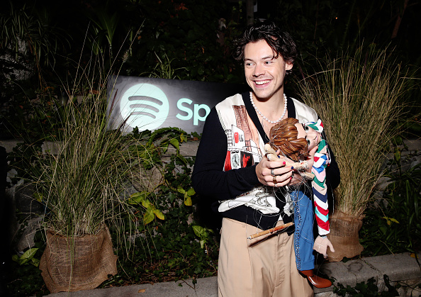 Harry Styles「Spotify Celebrates The Launch Of Harry Styles' New Album With Private Listening Session For Fans」:写真・画像(10)[壁紙.com]
