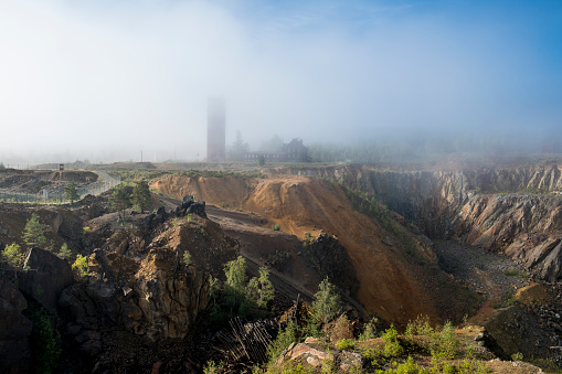 Dalarna「Sweden, Falun, Falun copper mine, Unesco World Heritage Site」:スマホ壁紙(8)