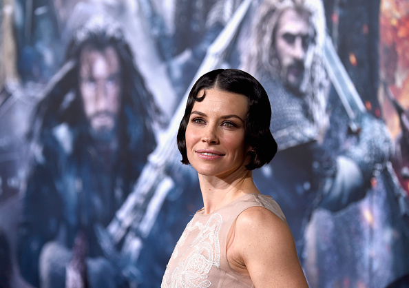 """Evangeline Lilly「Premiere Of New Line Cinema, MGM Pictures And Warner Bros. Pictures' """"The Hobbit: The Battle Of The Five Armies"""" - Arrivals」:写真・画像(5)[壁紙.com]"""
