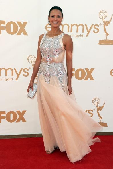 Nude Colored Dress「63rd Annual Primetime Emmy Awards - Arrivals」:写真・画像(14)[壁紙.com]