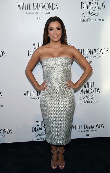 Silver Colored「Actress Eva Longoria Co-Hosts White Diamonds Elizabeth Taylor Fragrance 25th Anniversary Celebration And White Diamonds Night Launch」:写真・画像(16)[壁紙.com]
