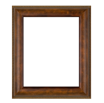 Ugliness「Plain Brown Picture Frame, Wide, White Isolated」:スマホ壁紙(17)
