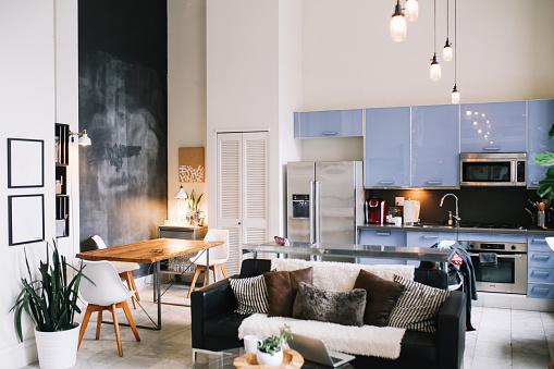 Art「Cozy loft apartment interior in Downtown Los Angeles」:スマホ壁紙(6)