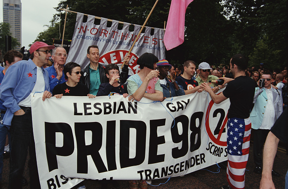 Bisexuality「Section 28 Protest At Pride」:写真・画像(15)[壁紙.com]
