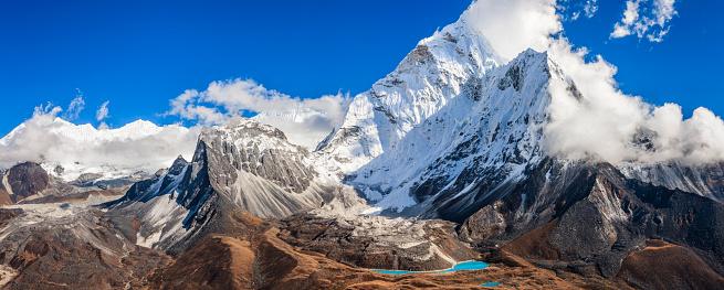 Ama Dablam「Mount Ama Dablam - Himalaya Range」:スマホ壁紙(4)