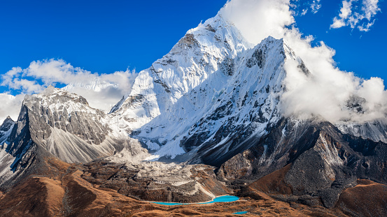 Ama Dablam「Mount Ama Dablam - Himalaya Range」:スマホ壁紙(13)