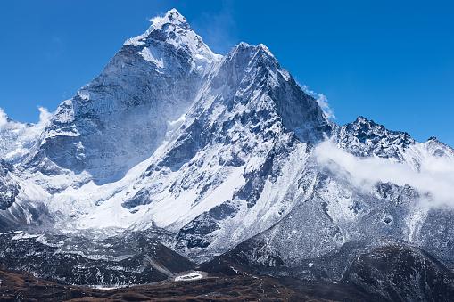 Ama Dablam「Mount Ama Dablam -probably the most beautiful mountain in Himalayas」:スマホ壁紙(11)