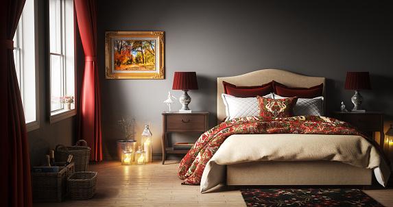 Candle「Master Bedroom Interior」:スマホ壁紙(10)