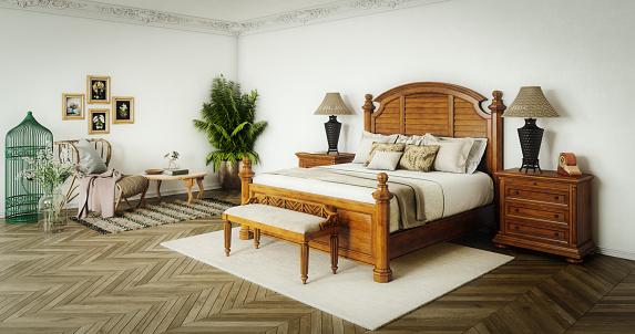 Desk Lamp「Master Bedroom Interior」:スマホ壁紙(6)