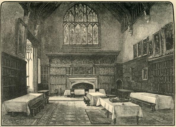 Wood Paneling「The Dining-Hall」:写真・画像(11)[壁紙.com]