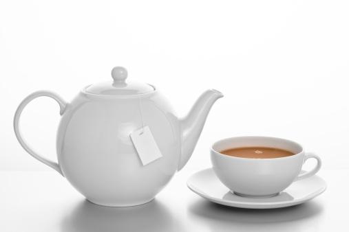Tea Cup「Pot of Tea with Cup and saucer」:スマホ壁紙(15)