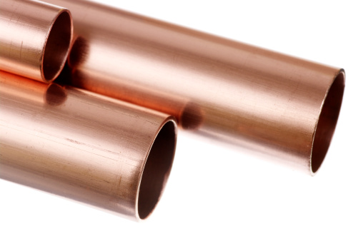 Pipe - Tube「Ends Of Various Sized Copper Pipe Or Tube For Plumbing」:スマホ壁紙(9)