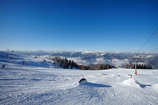 スキー「登山、冬のスキー風景」:スマホ壁紙(0)