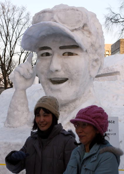 Ryo Ishikawa「Sapporo Snow Festival 2009 To Open In Japan」:写真・画像(6)[壁紙.com]
