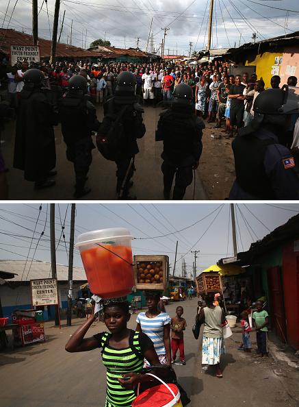 検疫「Monrovia Before And After The Ebola Epidemic」:写真・画像(14)[壁紙.com]
