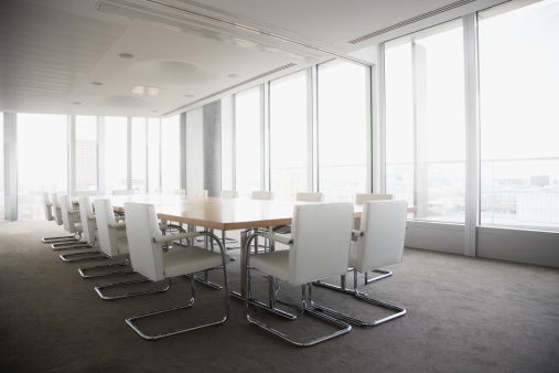 Fashion「Empty conference room in modern office」:スマホ壁紙(1)