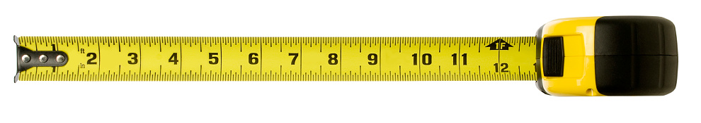 Ruler「Tape measure with clipping path」:スマホ壁紙(9)